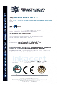Protective Coverall Certificate CE